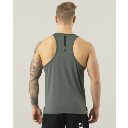ICANIWILL Tank Top Training Army Green