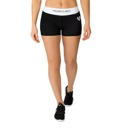 Womens Best Exclusive Shorts Black/White