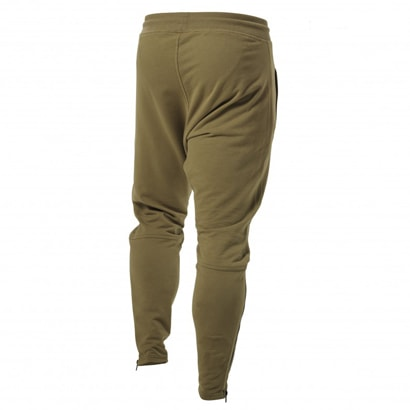 Better Bodies Harlem Zip Pants Military Green