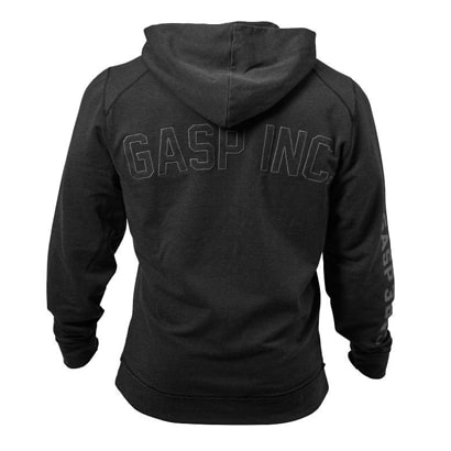 GASP Annex Zip Hood Wash Black