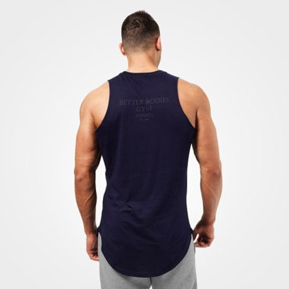 Better Bodies Harlem Tank Dark Navy