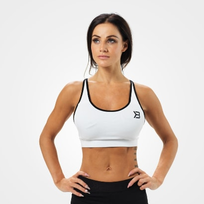 Better Bodies Sports Bra White