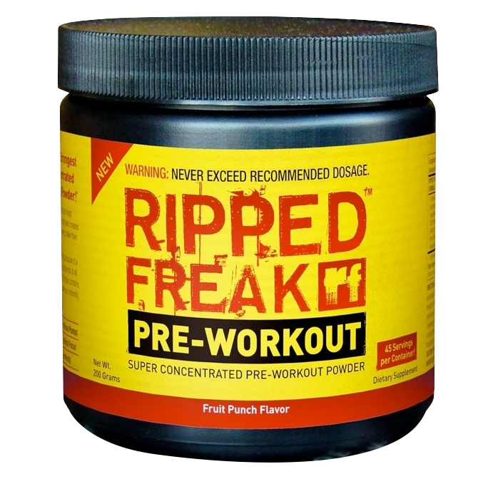 Pharmafreak Ripped Freak Pre-Workout 0,2kg