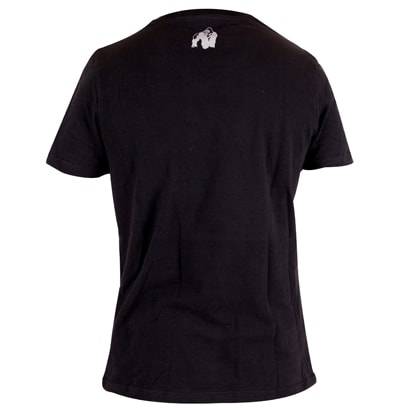 Gorilla Wear Sacramento V-Neck Tee, Black/White