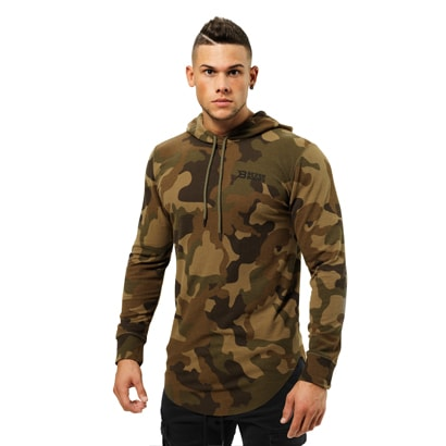 Better Bodies Stanton Thermal Hood Military Camo