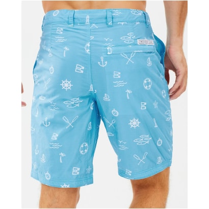 The Rocks Push Board Shorts Blueys Marine Icons