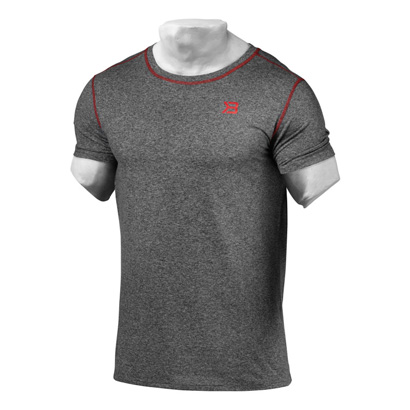 Better Bodies Performance Tee Antracite Melange