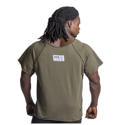 Gorilla Wear Classic Workout Top, Army Green