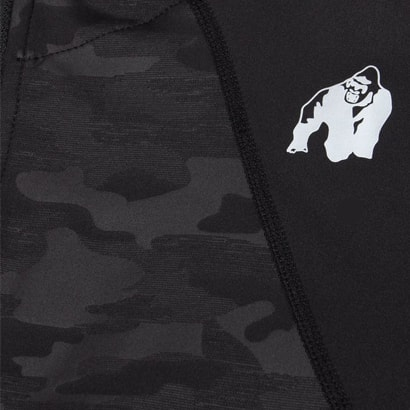 Gorilla Wear Savannah Jacket Black Camo