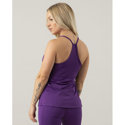 ICANIWILL Spaghetti Tank Top Purple