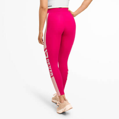 Better Bodies Chrystie High Tights Hot Pink