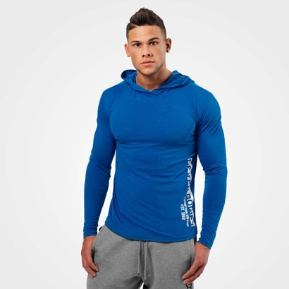 Better Bodies Mens Soft Hoodie Strong Blue