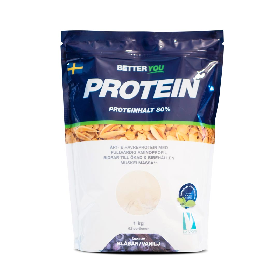 Better You Ärt & Havreprotein 1kg