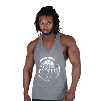 Gorilla Wear Mill Valley Tank Top Grey