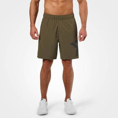 Better Bodies Hamilton Shorts Khaki Green