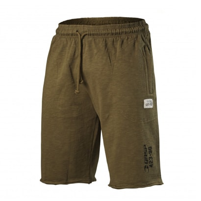 Gasp Throwback Sweatshorts, Military olive