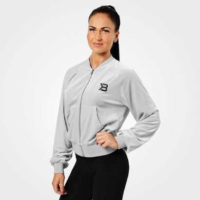 Better Bodies Womens Jackets/Sweaters Bowery zip Ls Frost Grey