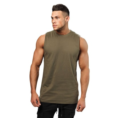 Better Bodies Bronx Tank Wash Green