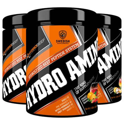 Swedish Supplements Hydro Amino Peptide 500g