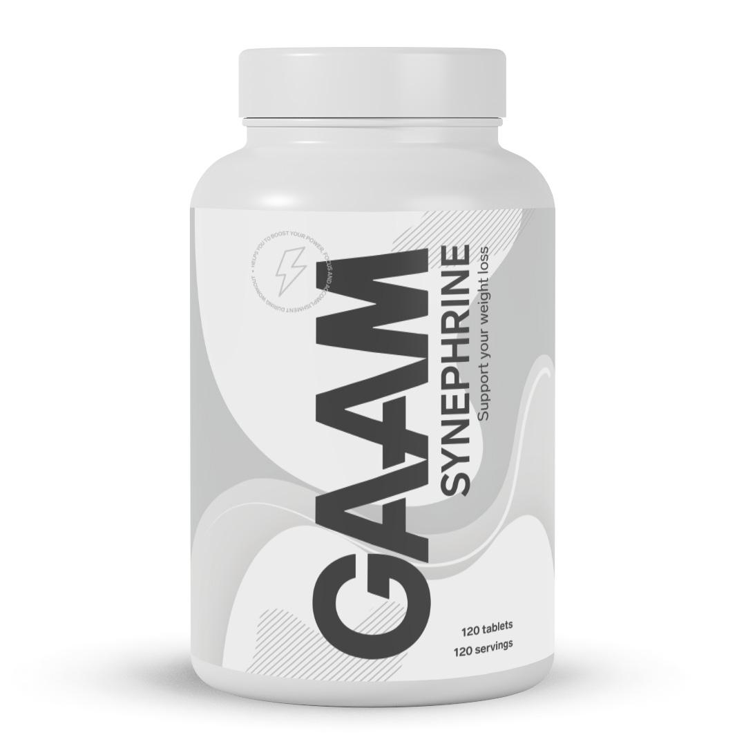 Gaam Power Series Synephrine, 120 Tabs