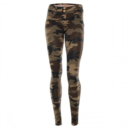 Freddy WR.UP® LOW WAIST - M95M - Mörk Camo