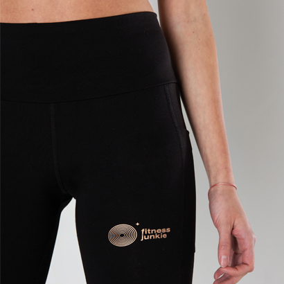 Fitnessjunkie Signature Tights Black