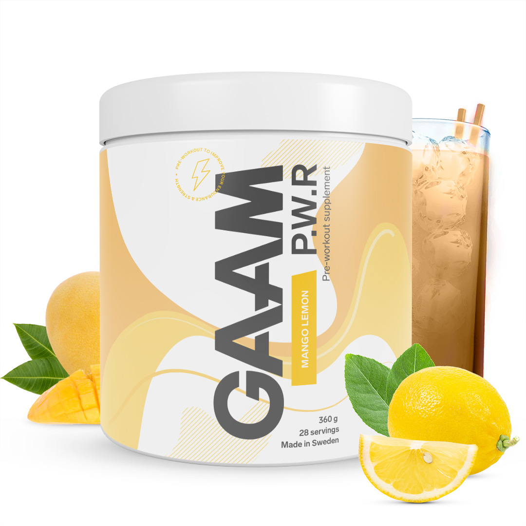 GAAM Nutrition Candy Series P.W.R 360g
