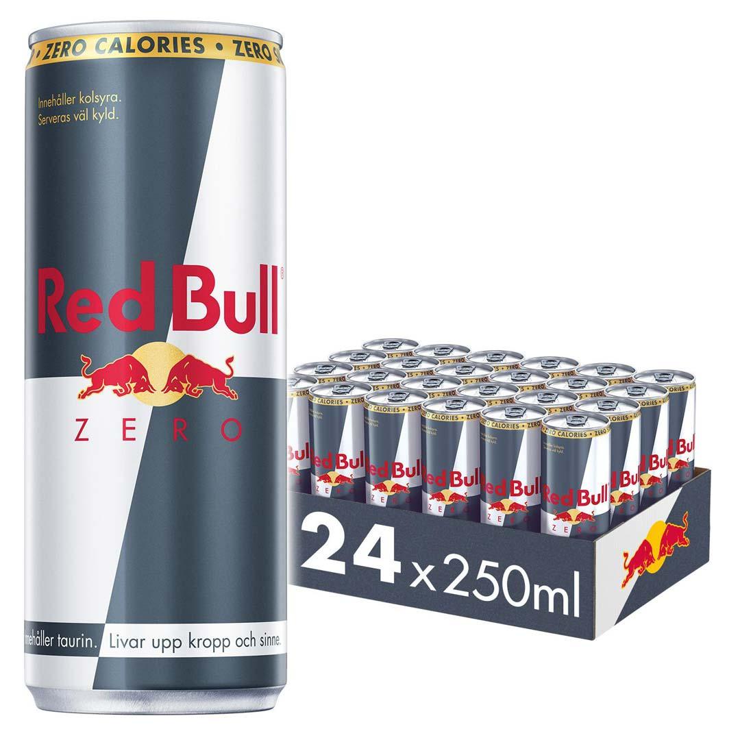 24 x red bull zero calories 250ml. Black Bedroom Furniture Sets. Home Design Ideas