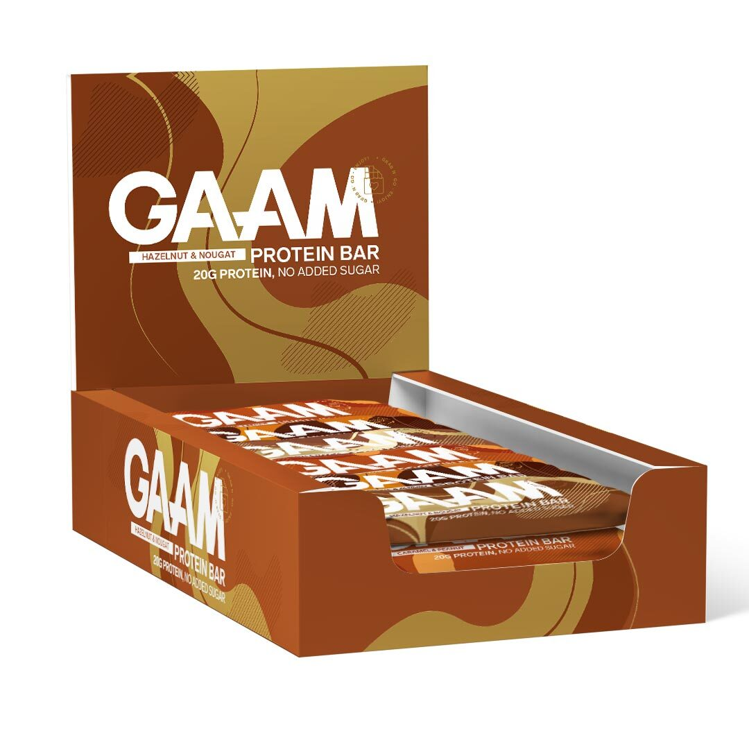 12 X Gaam Protein Bar, 55 G
