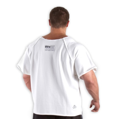 Gorilla Wear Classic Workout Top White