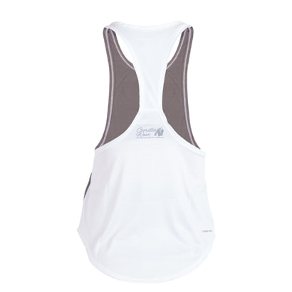 Florida Stringer Tank Top Grey/White