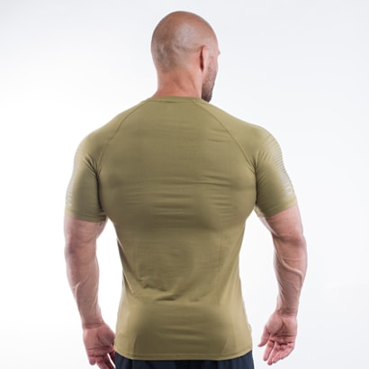 Better Bodies Performance PWR Tee Military Green