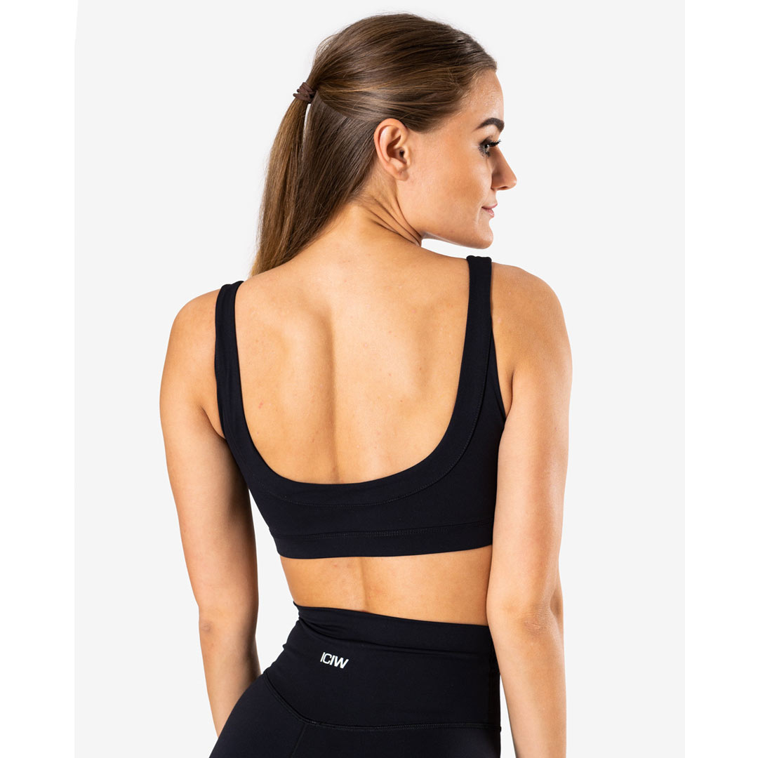 ICANIWILL Nimble Sports Bra, Black