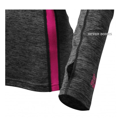Better Bodies Performance Mid L/S Graphite Pink