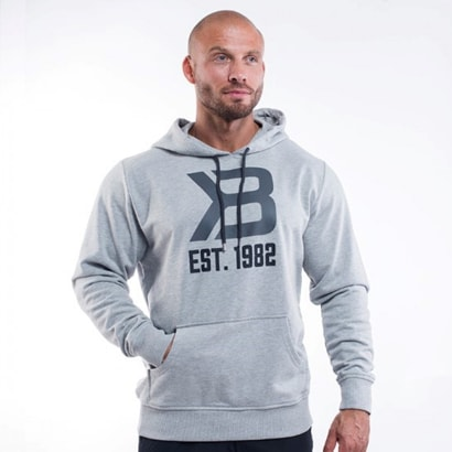 Better Bodies Gym Hoodie Greymelange