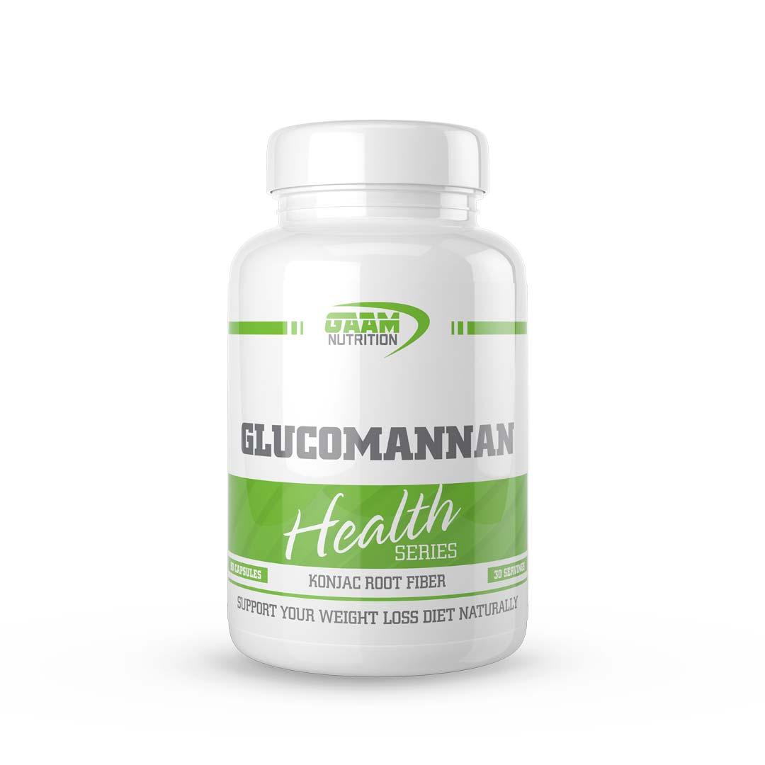 Gaam Health Series Glucomannan, 90 Caps