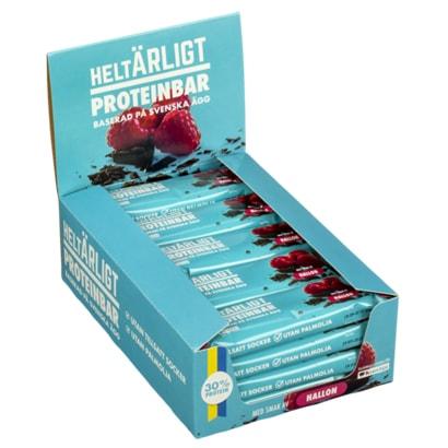 20 X Heltärligt Proteinbar Mix, 55 G