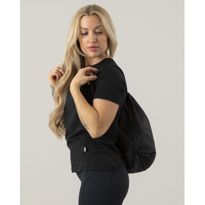 ICANIWILL Gym Bag Black