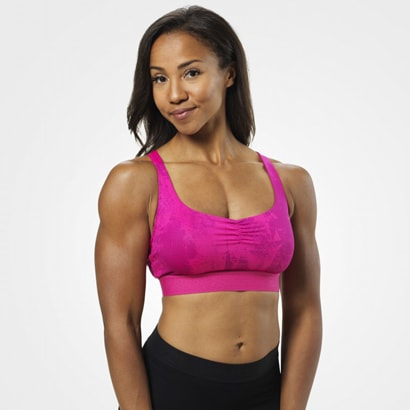 Better Bodies Fitness Short Top Pink Print
