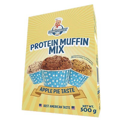 Frankys Bakery Frankys Protein Muffin 500g
