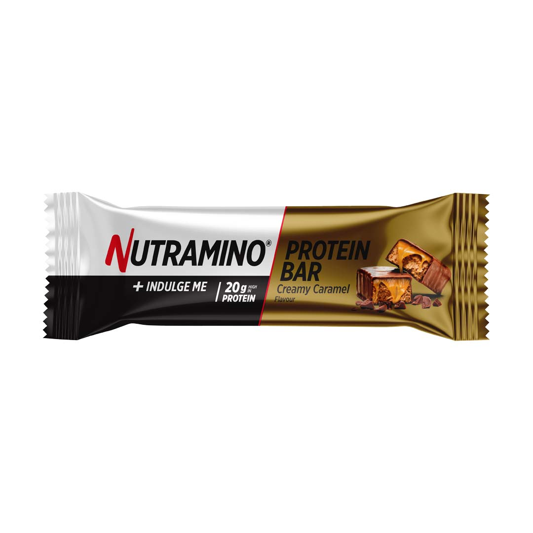 Nutramino proteinbar caramel