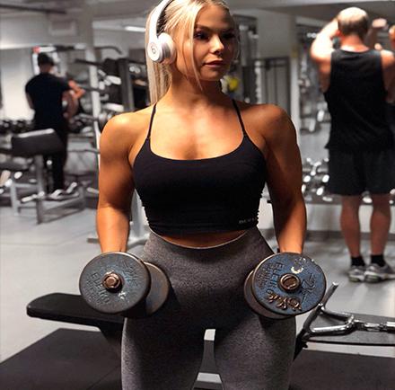 svenska fitness tjejer