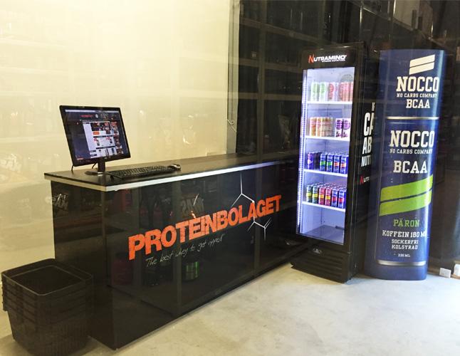 Proteinbolaget lagershop karlskoga