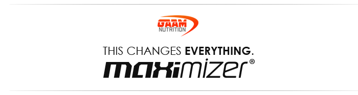 GAAM Nutrition Maximizer, this changes everything.