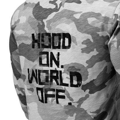 GASP World Off Hood On Hoody Snow Camo